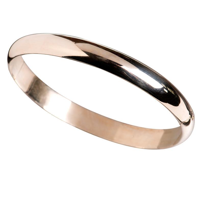 RING 9CT WHITE GOLD BAND